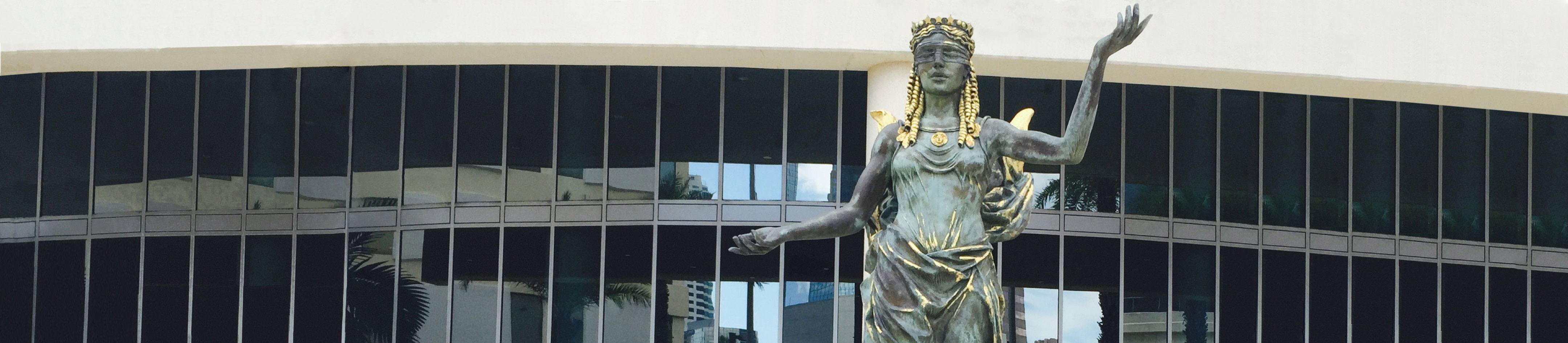 Lade Justice (the statue in front of the 13th Judicial Circuit Courthouse)