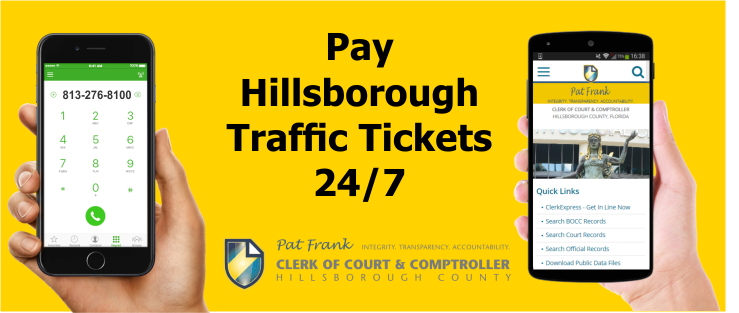 IMAGE Hillsborough Traffic Ticket Online and Phone Payments
