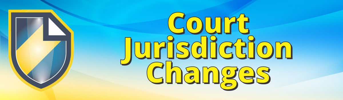 2020 Court Jurisdiction Changes